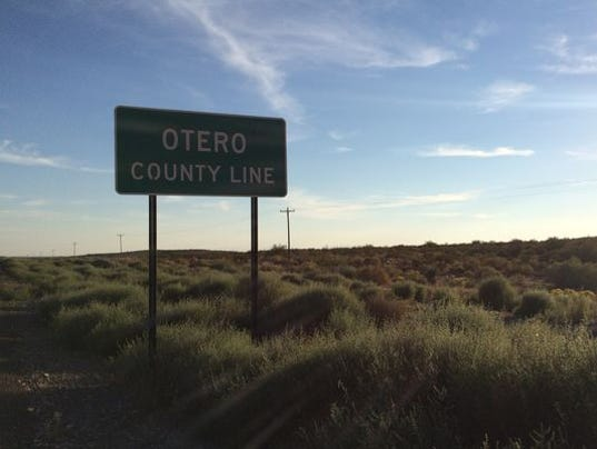 otero county line