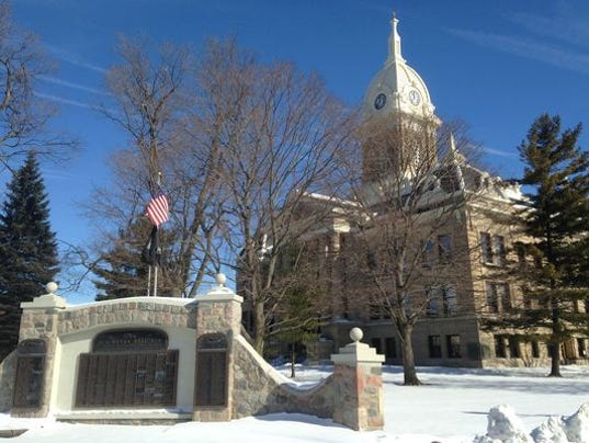 The ingham county courthouse in mason michael ashton who formerly