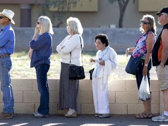Ways to prevent voting wait lines