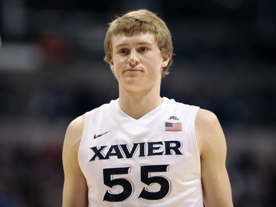 Xavier player who pulled down pants pleads guilty