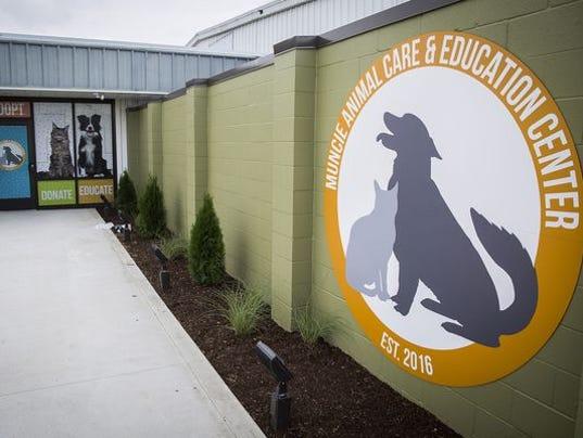 Muncie Animal Care sign