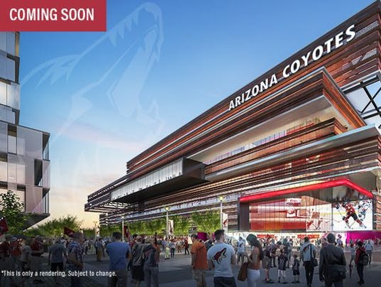Proposed Coyotes arena