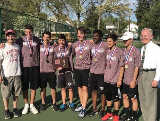Wayne Hills boys tennis