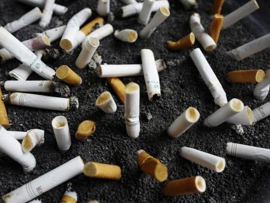 Dropping nicotine