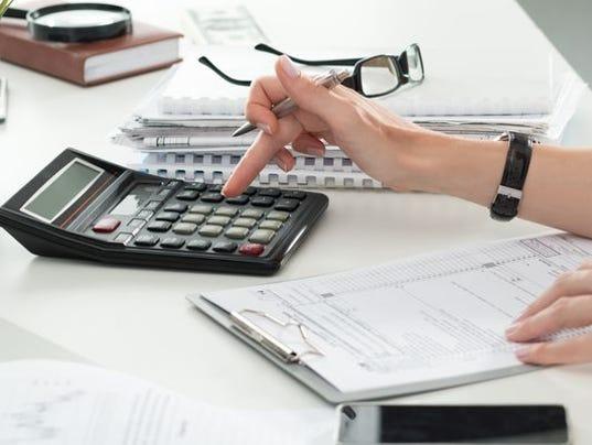 Stock Photo-Taxes