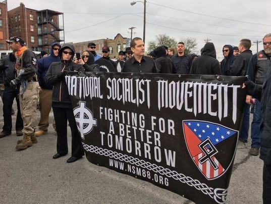 Tennessee white nationalist march