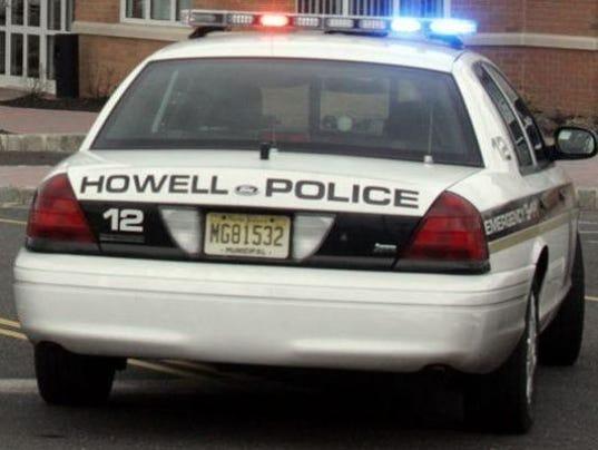 Howell police cruiser