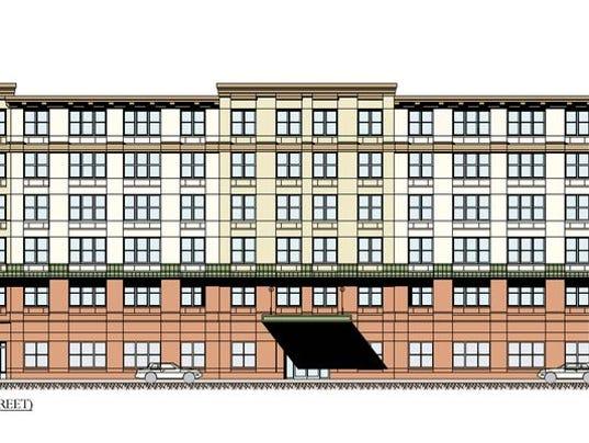 Rendering of senior housing