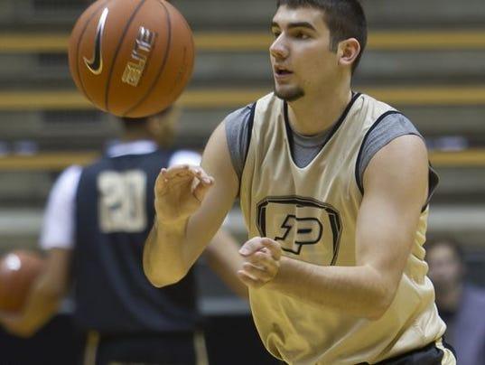 Purdue likes Dakota Mathias' high basketball IQ