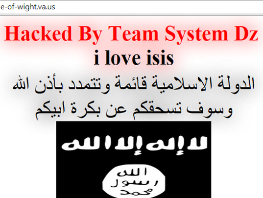 how to find isis websites