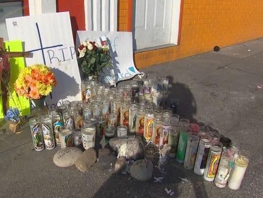 Pasco shooting memorial