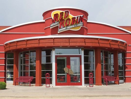 red robin advertising for sioux falls store