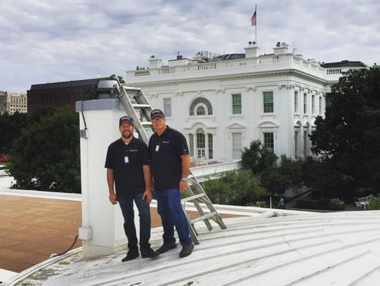 Indiana Chimney Sweeps Go To Work At White House