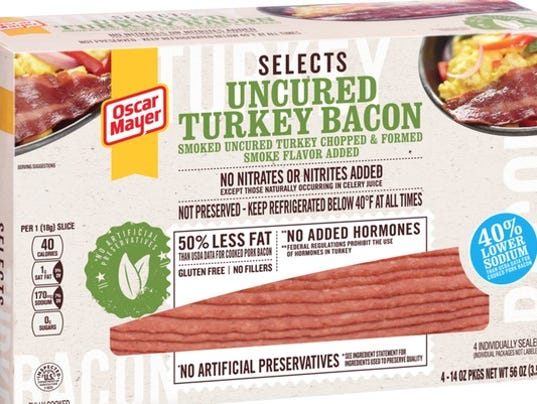 Tomato Turkey Vegetable Rolls as well Oscar Mayer Premium Jumbo Beef 5223 further Grilled Cheese Recipe also What is turkey bacon as well Kraft Heinz Recalls More Than 2m Pounds Of Turkey Bacon. on oscar mayer selects turkey