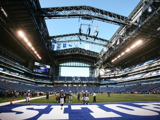 Lucas Oil Stadium S Roof Is Fixed