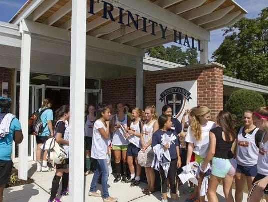 Home Group Trinity Foyer : Trinity hall to move school fort monmouth