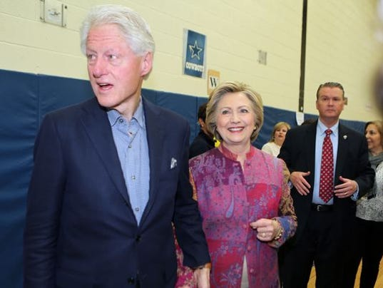 Live Tweets Bill Clinton In New Jersey Today
