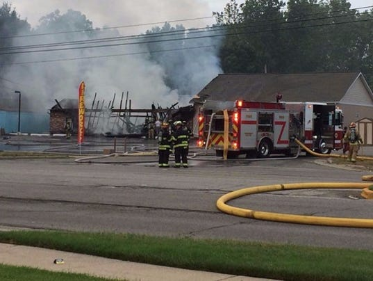 Fire Guts Fireworks Store In Michigan No Injuries Reported