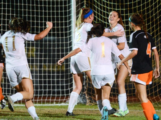 High School Soccer: Oviedo at Merritt Island
