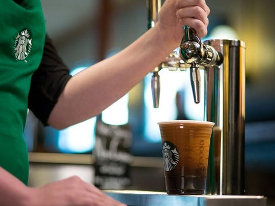 Starbucks offers free shots of Nitro Cold Brew August 2 at participating locations across the country.