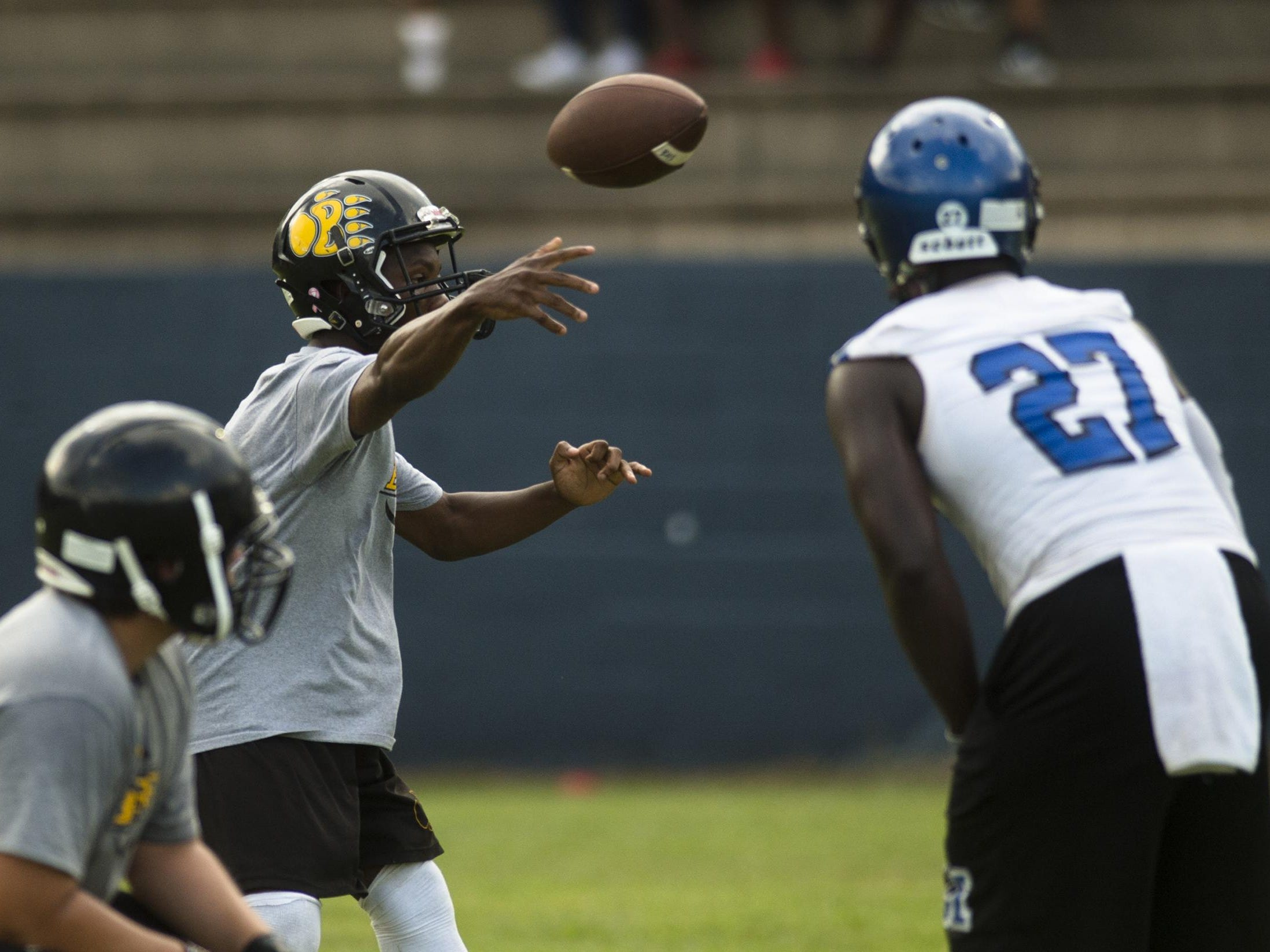 Billingsley's James Woods threw for four touchdown passes and had a rushing touchdown.