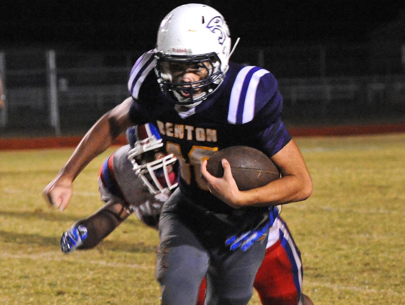 Officials removed at least three allegedly underinflated footballs from Benton during last week's game against Woodlawn.