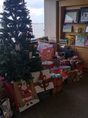 The East Florida Eye Institute in Stuart participated in Martin County's'Secret Santa for Seniors' in 2016. This photo is of gifts received in the two days of the campaign.