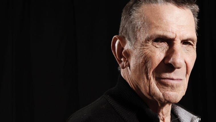 Actor Leonard Nimoy, a cast member in the upcoming
