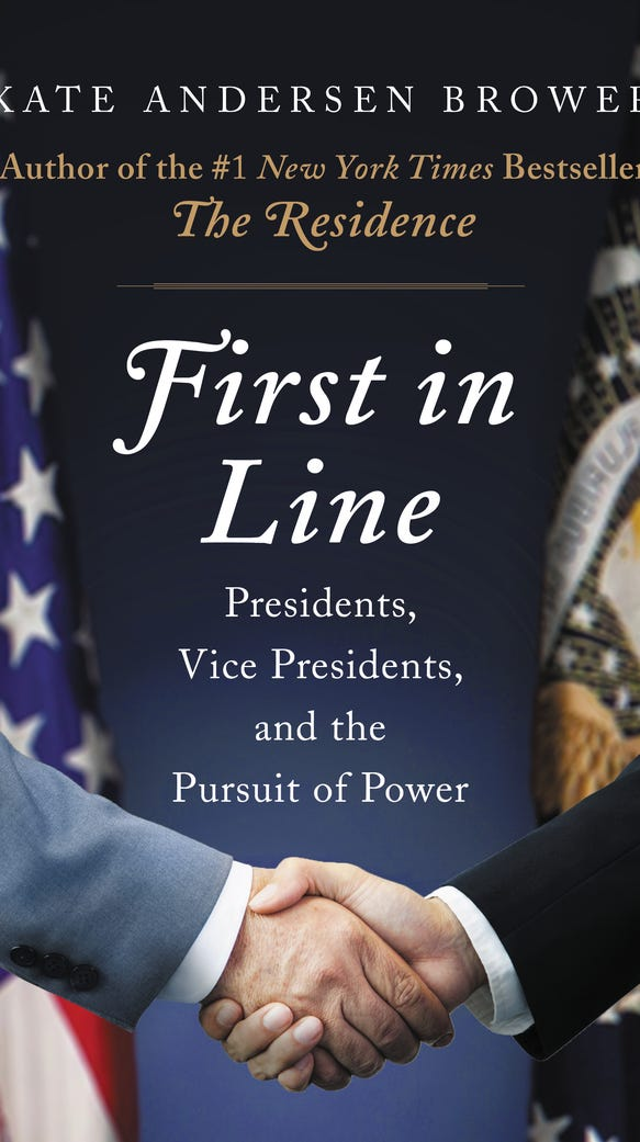"""First in Line"" by Kate Andersen Brower."