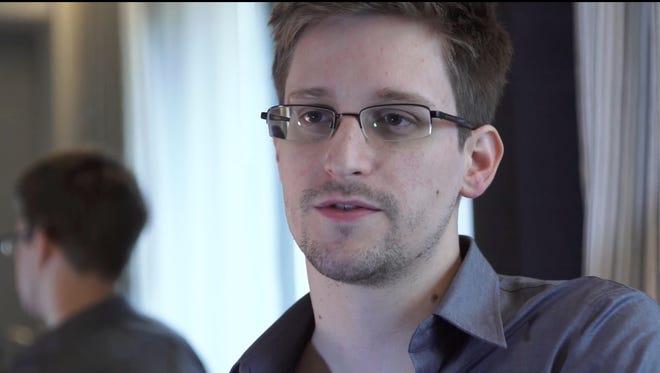 Whistle-blower Edward Snowden.