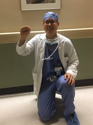 Dr. Eugene Gu, a surgical resident at Vanderbilt University