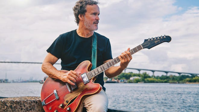 'Blues Night' on Thursday will feature Eric Culberson (pictured) with special guest Dollette McDonald, who has performed with Sting and the Talking Heads.