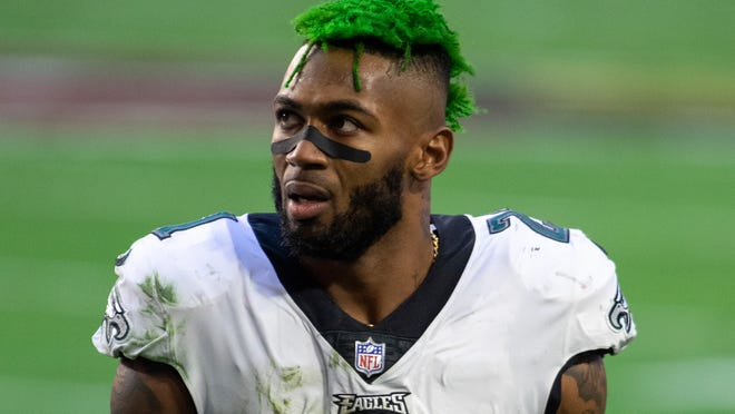 """Jalen Mills, formerly of the Philadelphia Eagles, was so excited to meet his new coach, that he turned away from him in mid-conversation to scream, """"This is [expletive] Coach Belichick."""""""