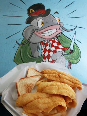 The Catfish Meal is one of the more popular items on the menu at the Catfish Basket located at 4950 Hondo Pass in Northeast El Paso.