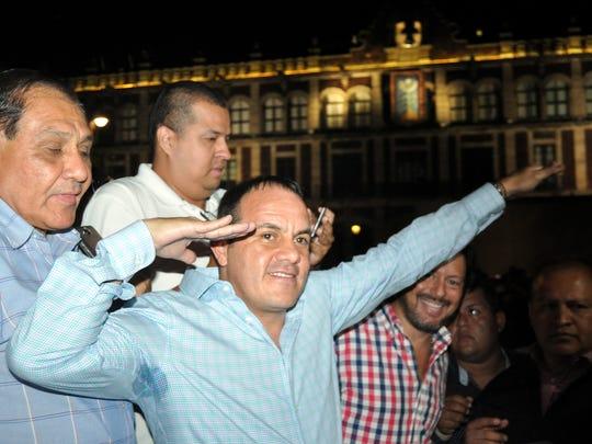 El ex futbolista Cuauhtémoc Blanco ganó la gubernatura