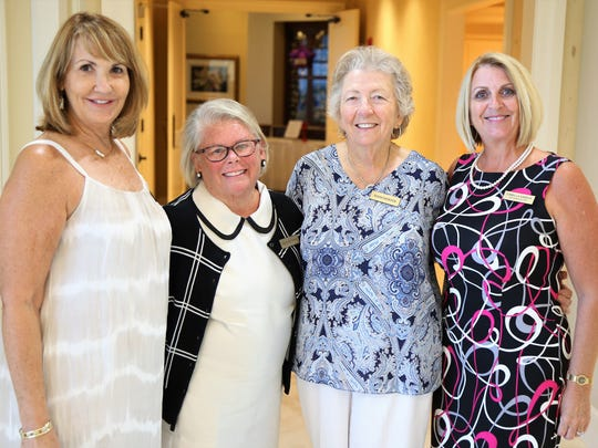 From left, Debbie Kelly, Coco Patteson, Susan Shewchuk