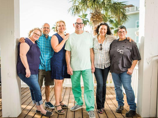 """This group of Port A restaurateurs formed a makeshift """"Commune,"""" living together in a vacation rental home while working on repairs to their restaurants and homes."""