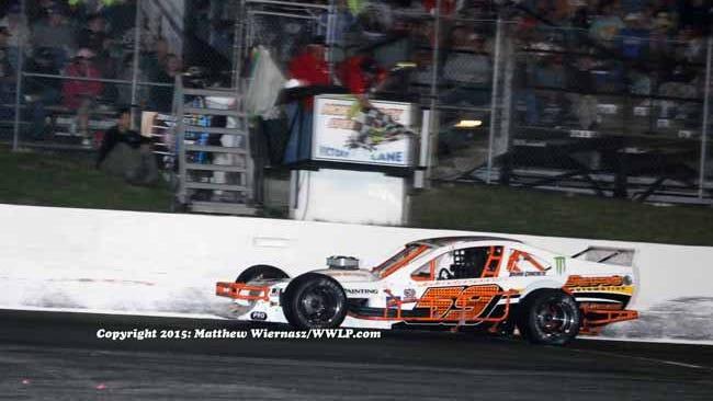 Matt Hirshman pulled off another Tri-Track Open Modified win at Star Speedway. (Credit: Matt Winarz photo)