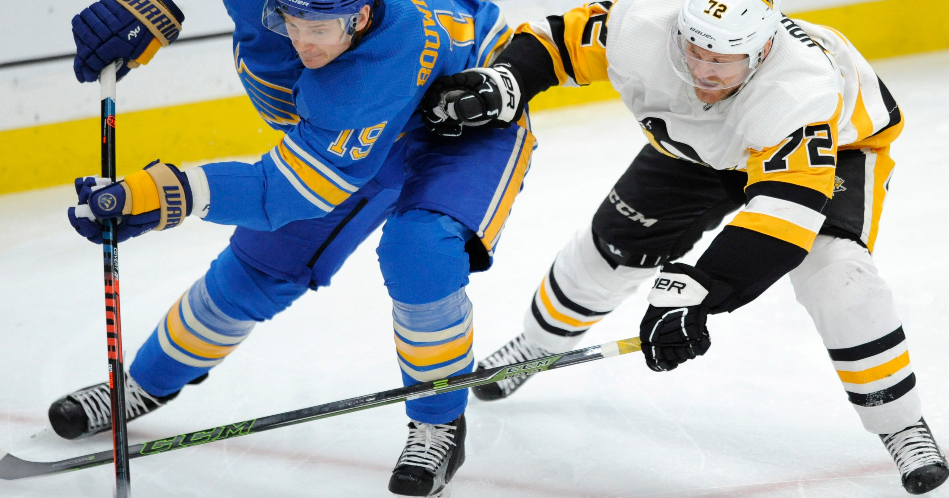finest selection 8d00b a79f3 Crosby s 4 points lead streaking Penguins past Blues 6-1