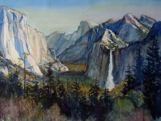 Landscape by Howard Lucas.