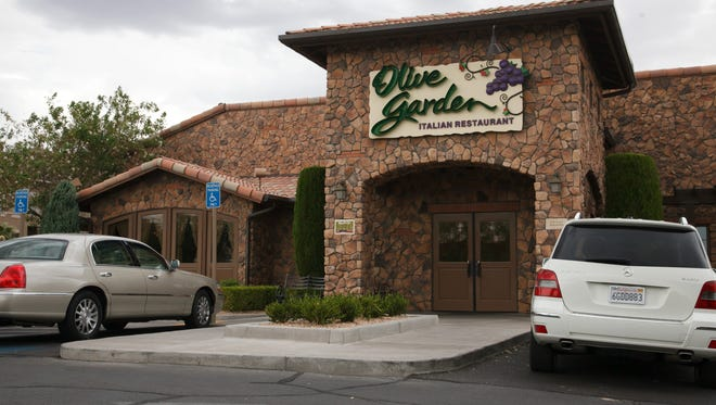 The St. George Olive Garden restaurant is one of numerous eateries along the metropolitan area's primary merchant row that will be coping with holiday season traffic