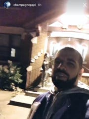 Drake (@champagnepapi) visited 1305 34th Street, home of Kappa Kappa Gamma, in the early hours Wednesday morning. He also stopped by Kappa Alpha Theta.