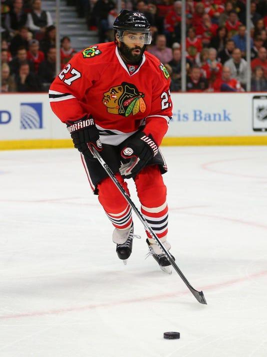 USP NHL: STANLEY CUP PLAYOFFS-ANAHEIM DUCKS AT CHI S HKN USA IL