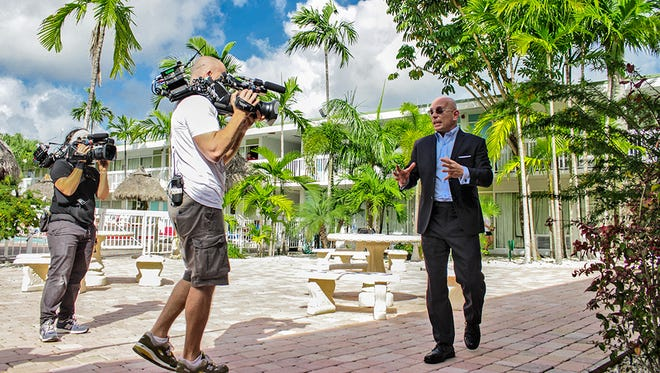 "Anthony Melchiorri is the host of Travel Channel's popular ""Hotel Impossible."""