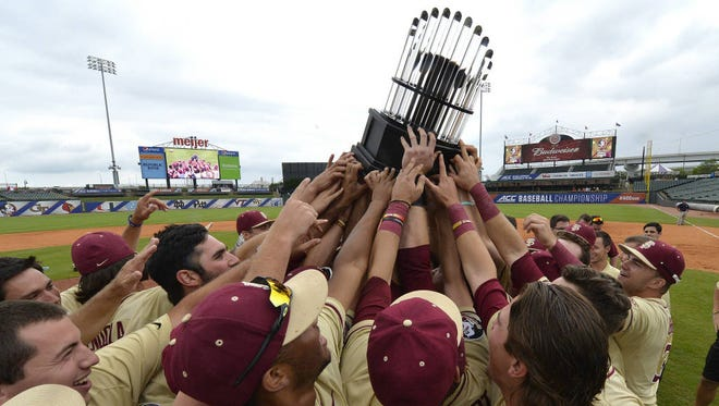 Smoky Mountain alum Cal Raleigh and Florida State won the ACC baseball tournament Sunday in Louisville, Ky.