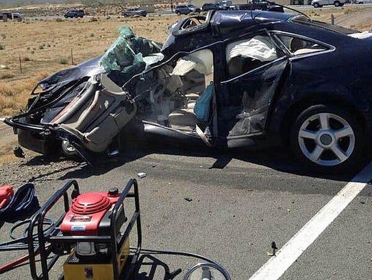 NHP Dayton US 50 crash