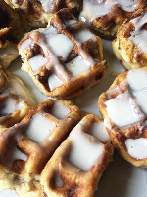 Cinnabon waffles