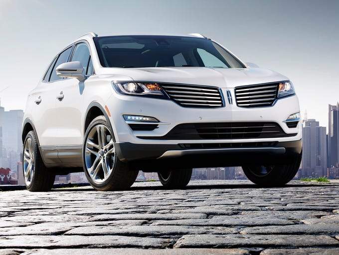Ford has unveiled the production version of the new 2015 Lincoln MKC, its entry for the hot small luxury SUV market and a key model for the brand's revival.