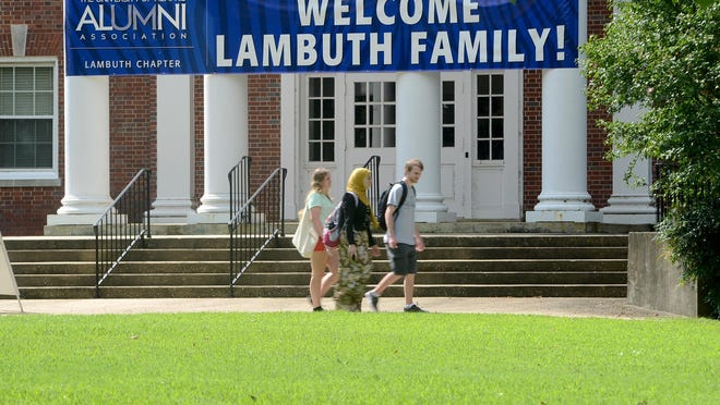 Students are welcomed back to the University of Memphis Lambuth Campus for the 2016-17 school year.