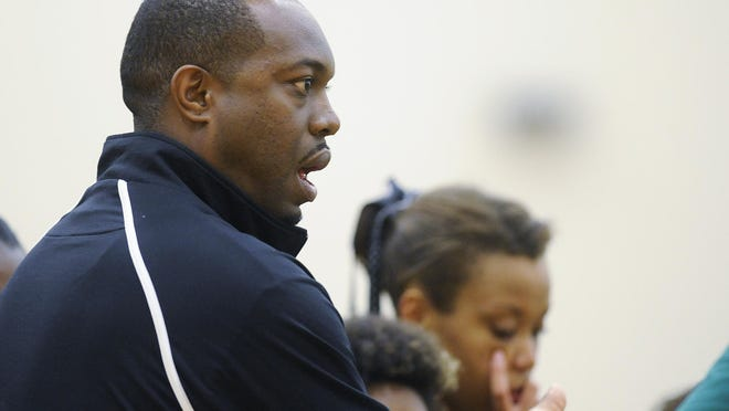 Jeff Davis volleyball coach Mark Eubanks and the Vols lost in the first round of the Class 7A South Regional tournament.